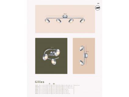 Svítidlo GILLES 56217-2 GLOBO  * včetně světelného zdroje LED *