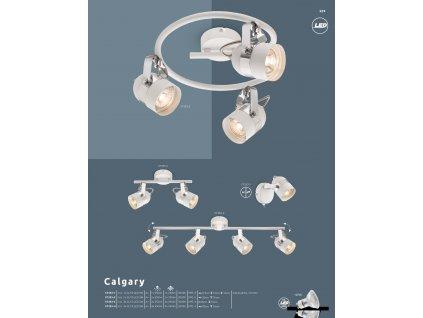 Svítidlo CALGARY 57353-3 GLOBO  * včetně LED žárovek ZDARMA *