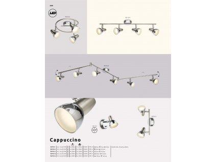 Svítidlo CAPPUCCINO 56116-2 GLOBO  * včetně světelného zdroje LED *