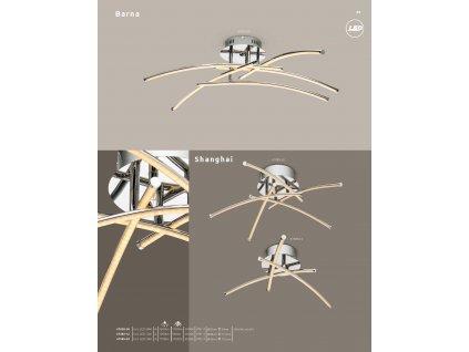 Svítidlo SHANGHAI 67085-12 GLOBO  * včetně světelného zdroje LED *