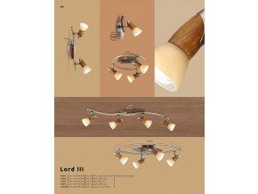 Svítidlo LORD III 5443-3 GLOBO