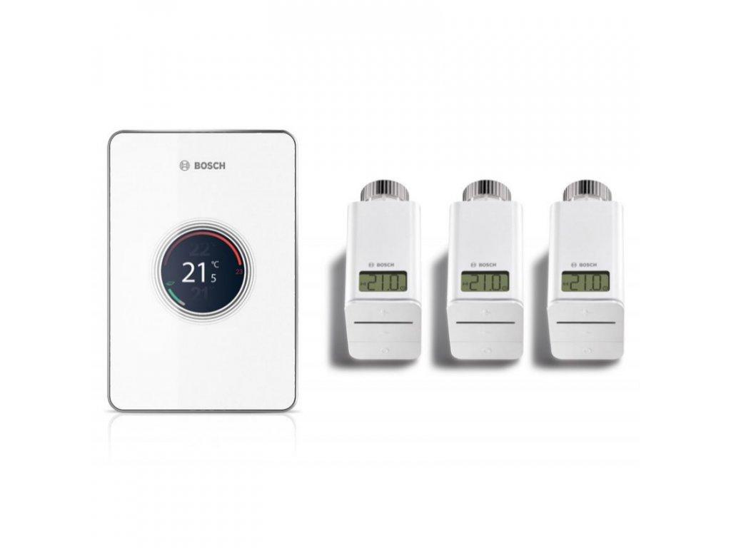 EasyControl Set CT 200 bílá  (termostat + 3 hlavice)