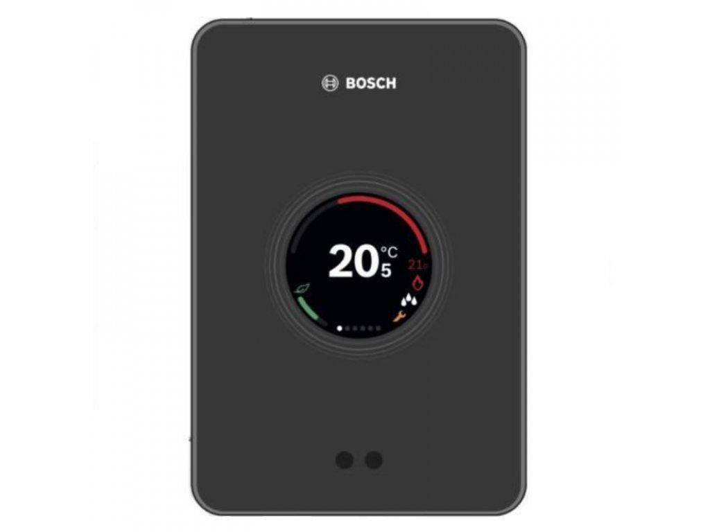 Chytrý termostat Bosch Wi-fi černá