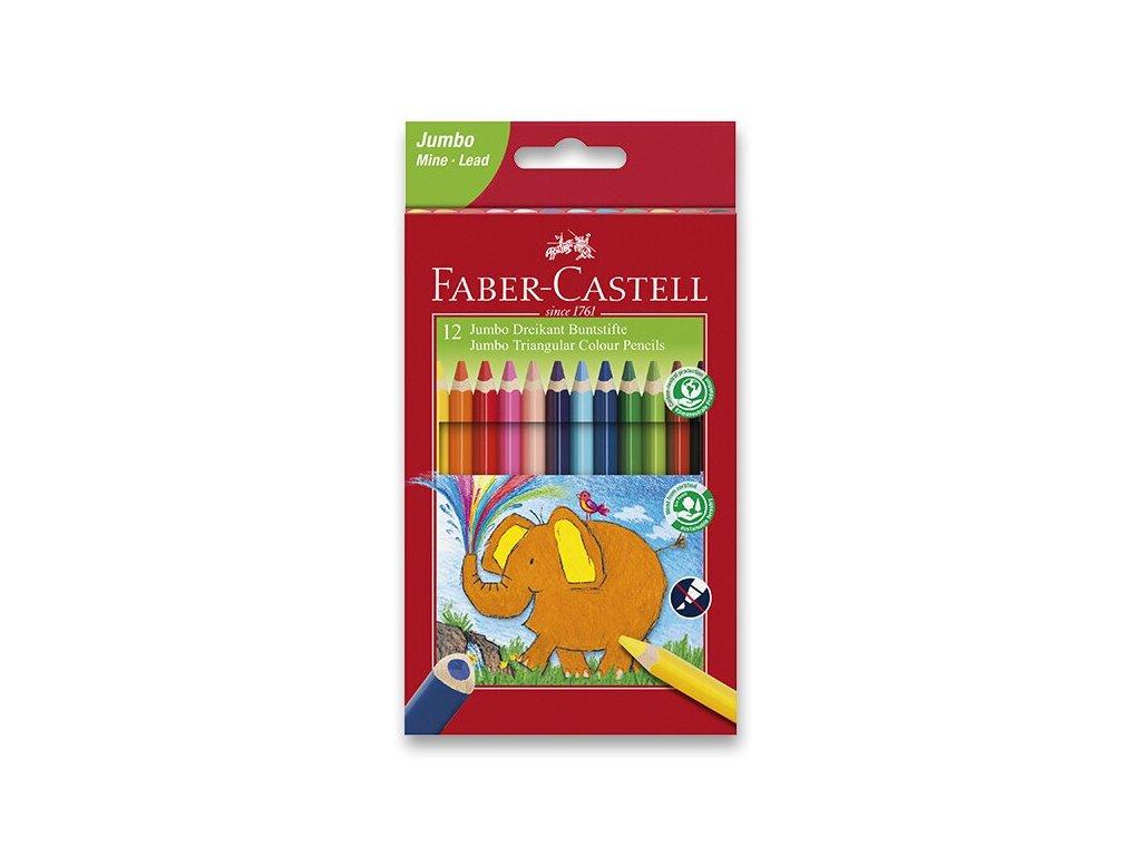 Pastelky Faber-Castell Extra Jumbo 12 farieb