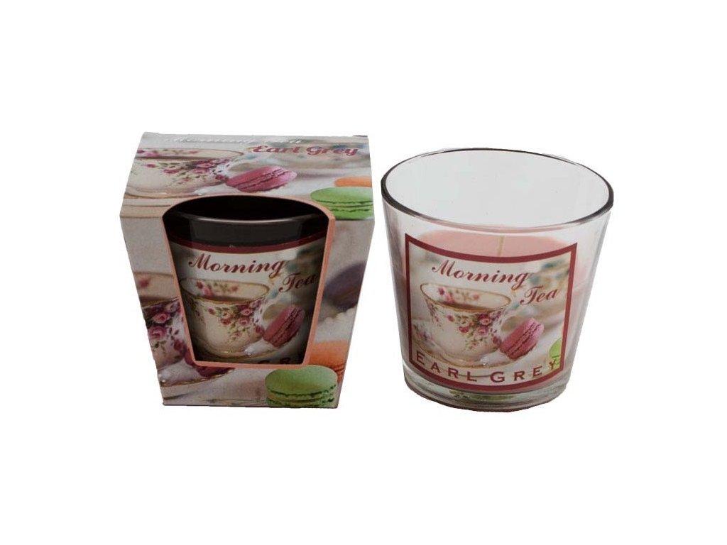 Vonná sviečka 120 g, ranný čaj