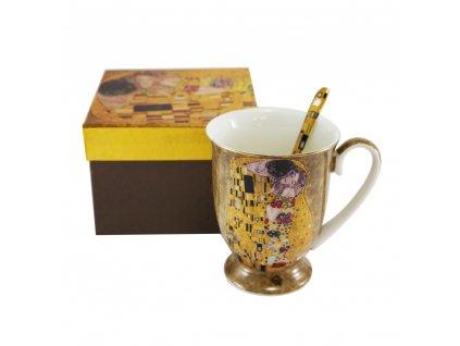 Hrnček s lyžičkou 280 ml, Klimt