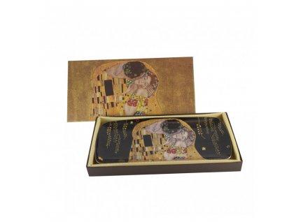 Porcelánový podnos, Klimt