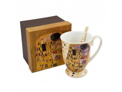 Hrnček s lyžičkou, 280 ml, Klimt