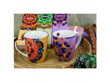 Ovocný čaj Indiánské leto - Mandala fialová