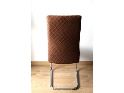 Poťah na stoličku, hnedý