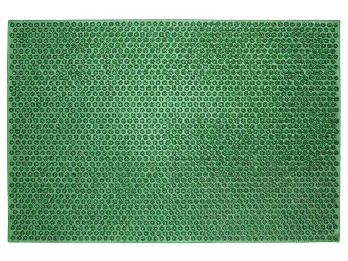 Rohož gumová, umělá tráva, 40x60 cm h