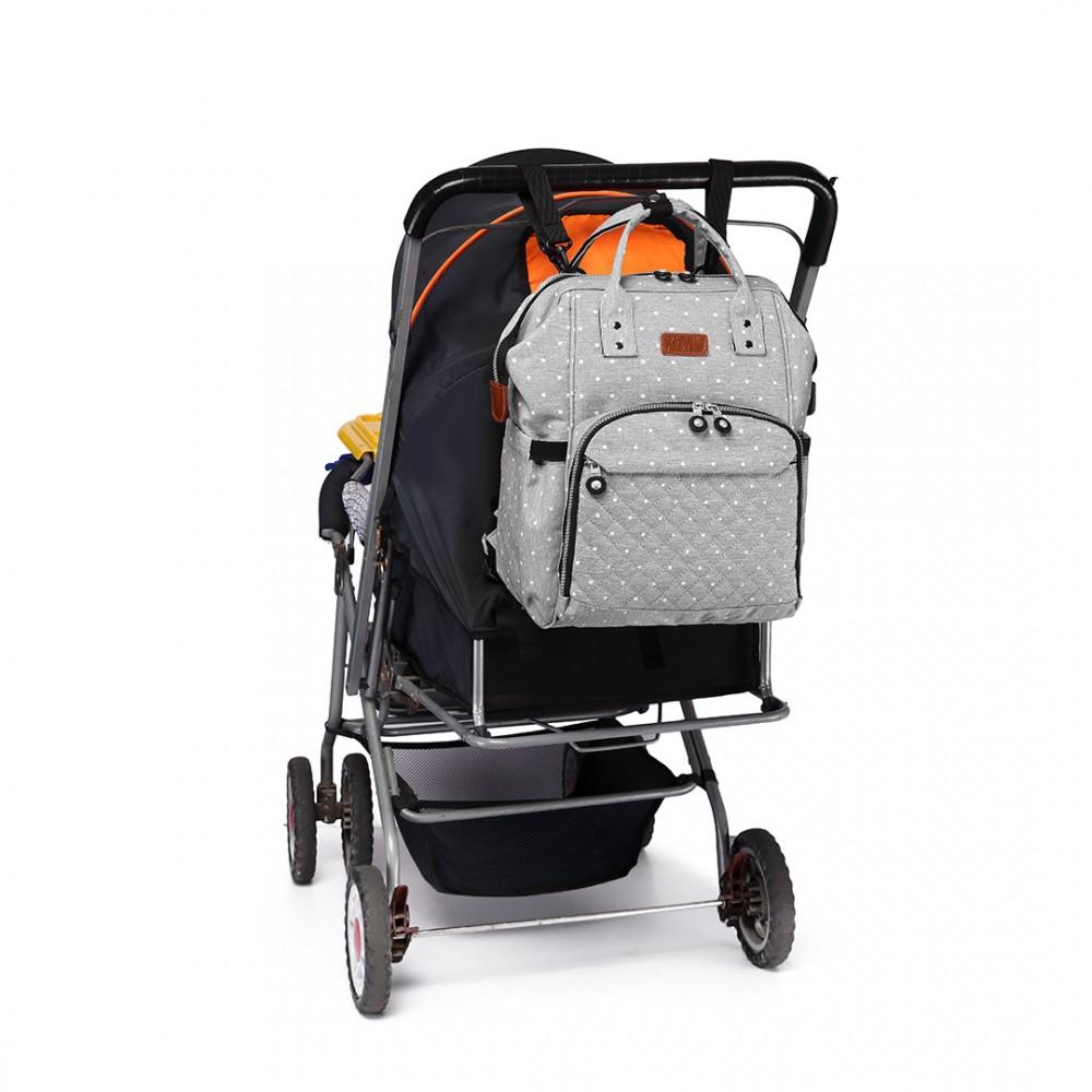 Mateřské tašky a batohy Vám usnadní život