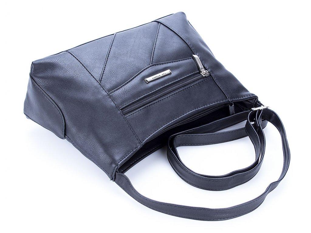 bdfa02958e Malá kabelka přes rameno 3025-2 - černá - ModexaStyl.cz