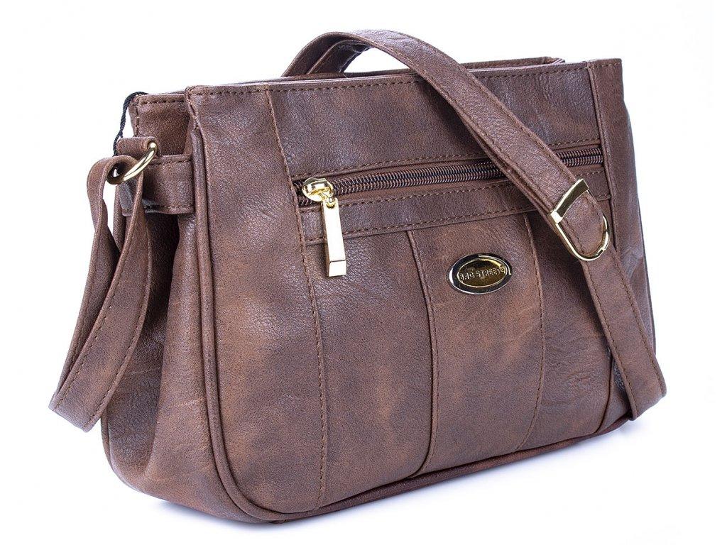 Malá kabelka přes rameno hnědá Bag Street 3018 2 ModexaStyl (3)