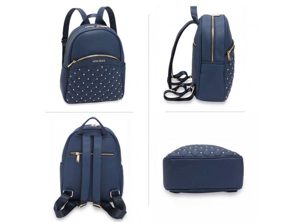 Dámský batoh AG00590 - modrý - ModexaStyl.cz f1248ff296