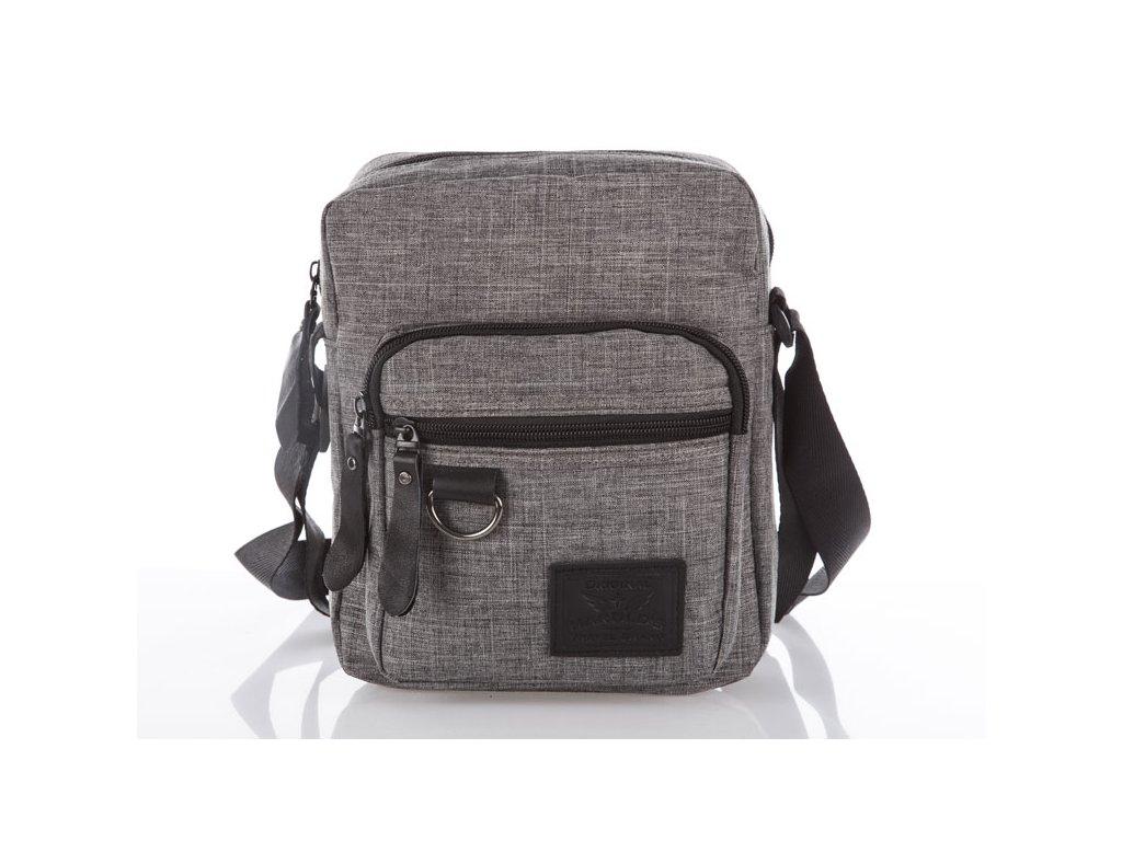 Pánská malá taška přes rameno 4073 - šedá