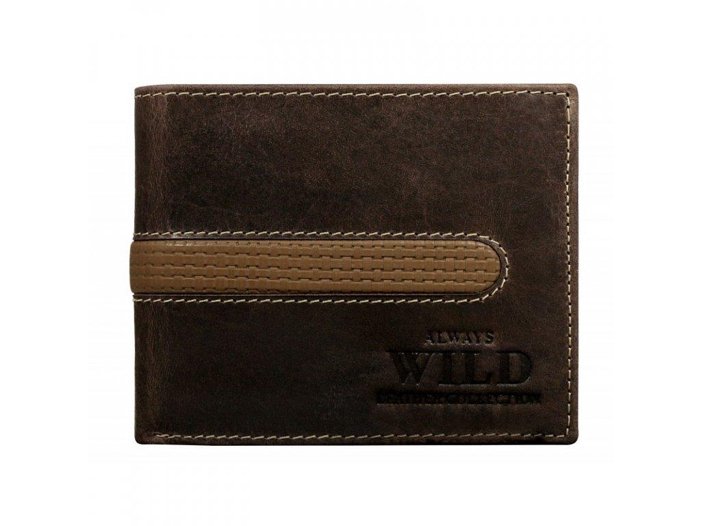 pánská kožená peněženka Wild N992 MHDU (5)