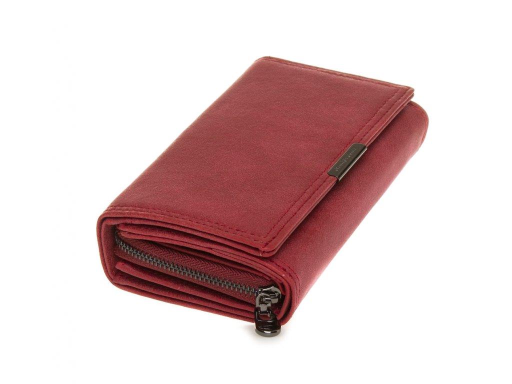 Dámská kožená peněženka Jennifer Jones 11033 1 RD červená (1)