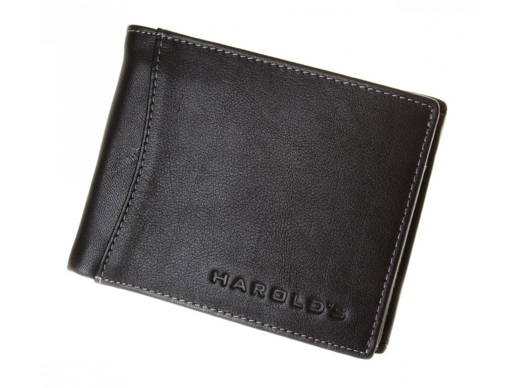 Pánská kožená peněženka 5544-3 černá - ModexaStyl.cz 0ec77580e9