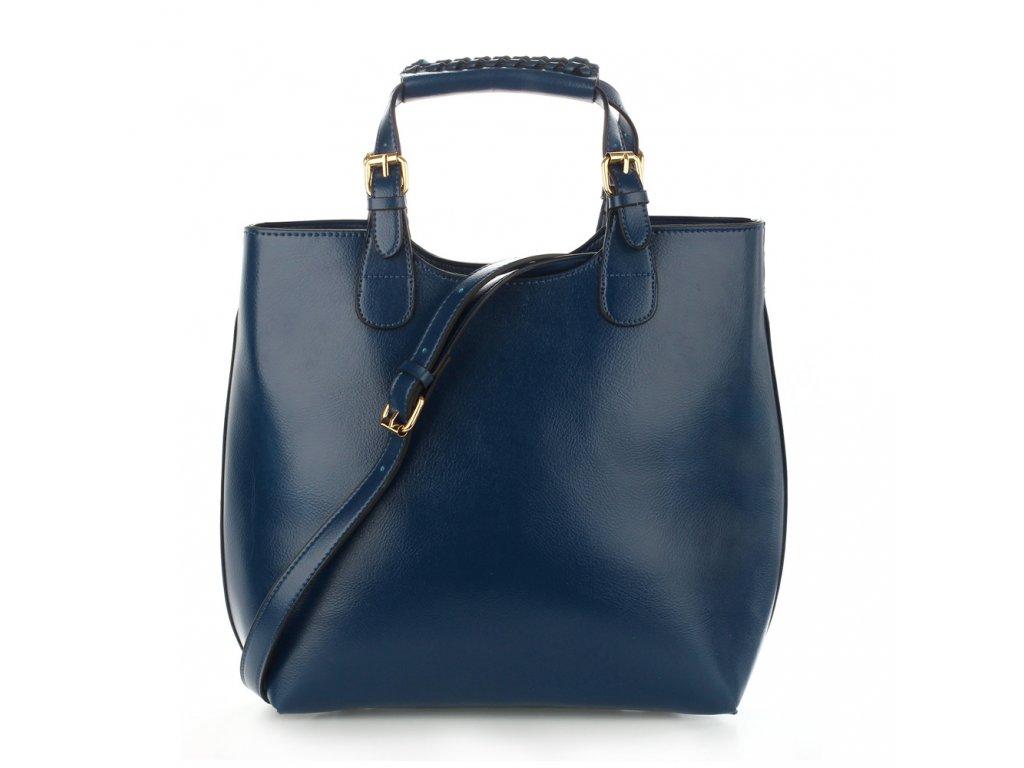 Kabelka shopper bag Anna Grace AG00267-NY modrá 1