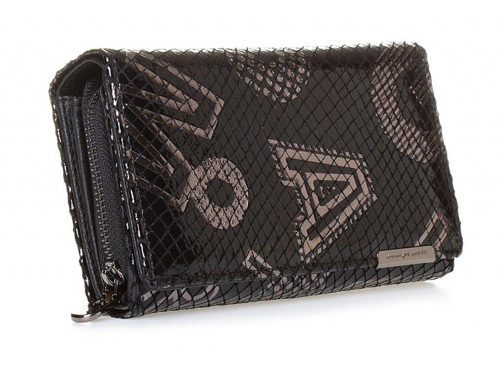 Dámská kožená peněženka Jennifer Jones 5261 6 černá (3)