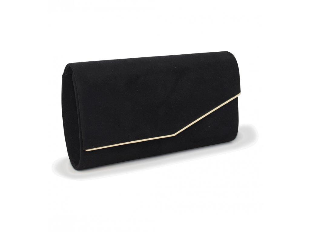 Večerní kabelka psaníčko 18011 černá (3)