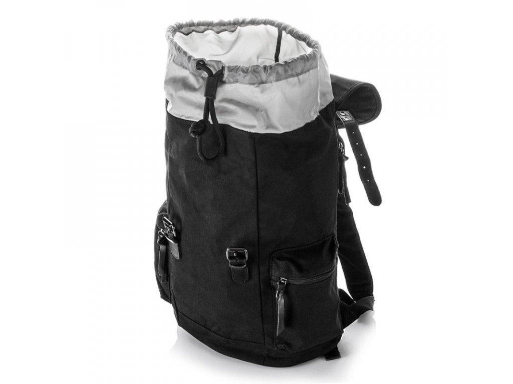 39fca043ff ... velký vintage batoh nejen na notebook Harolds 4554 černý (3) ...