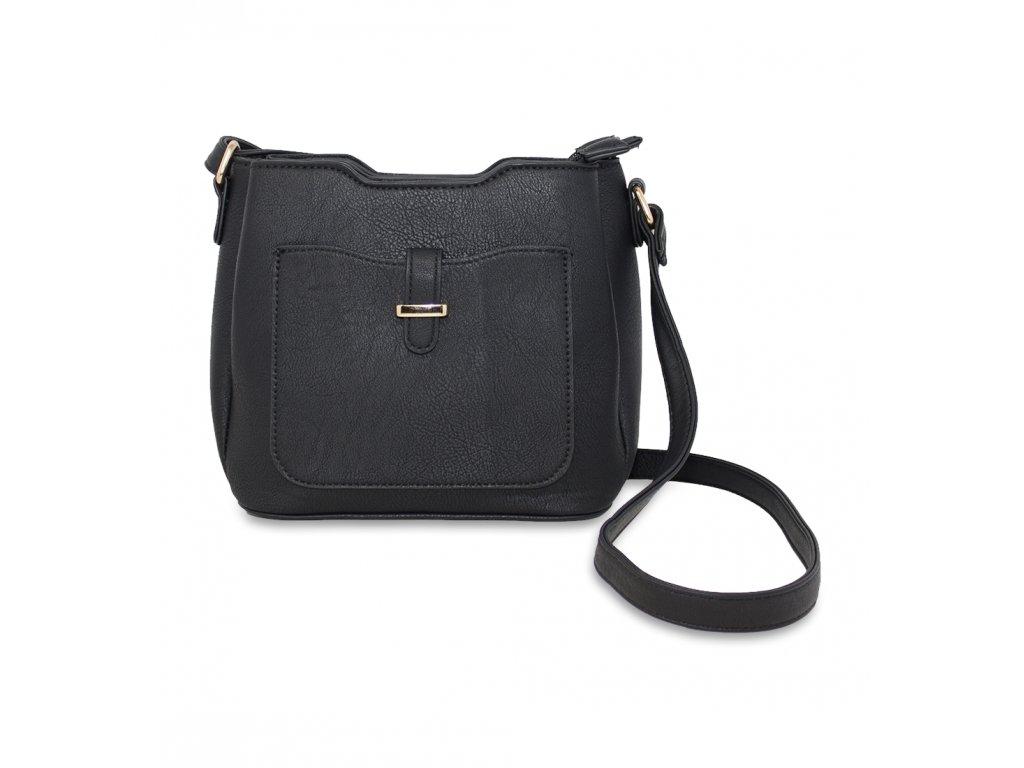 Menší kabelka přes rameno černá A971 BK (3)