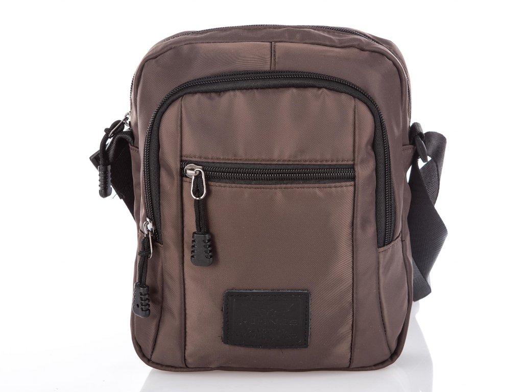 Pánská taška přes rameno hnědá 4074 Harolds