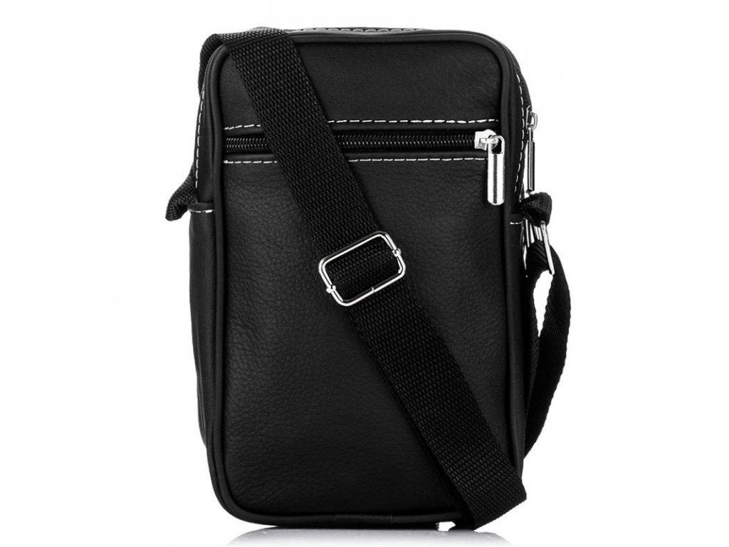 e4d3ba963e ... Malá pánská kožená taška přes rameno Paolo Peruzzi B 03 (7) ...