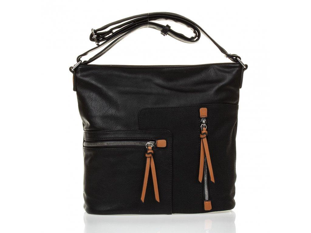Crossbody kabelka přes rameno Paula Rossi 182 2 černá