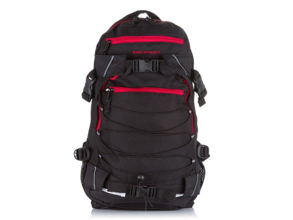 Sportovní trekingový batoh černý Bag Street 4083 (1)