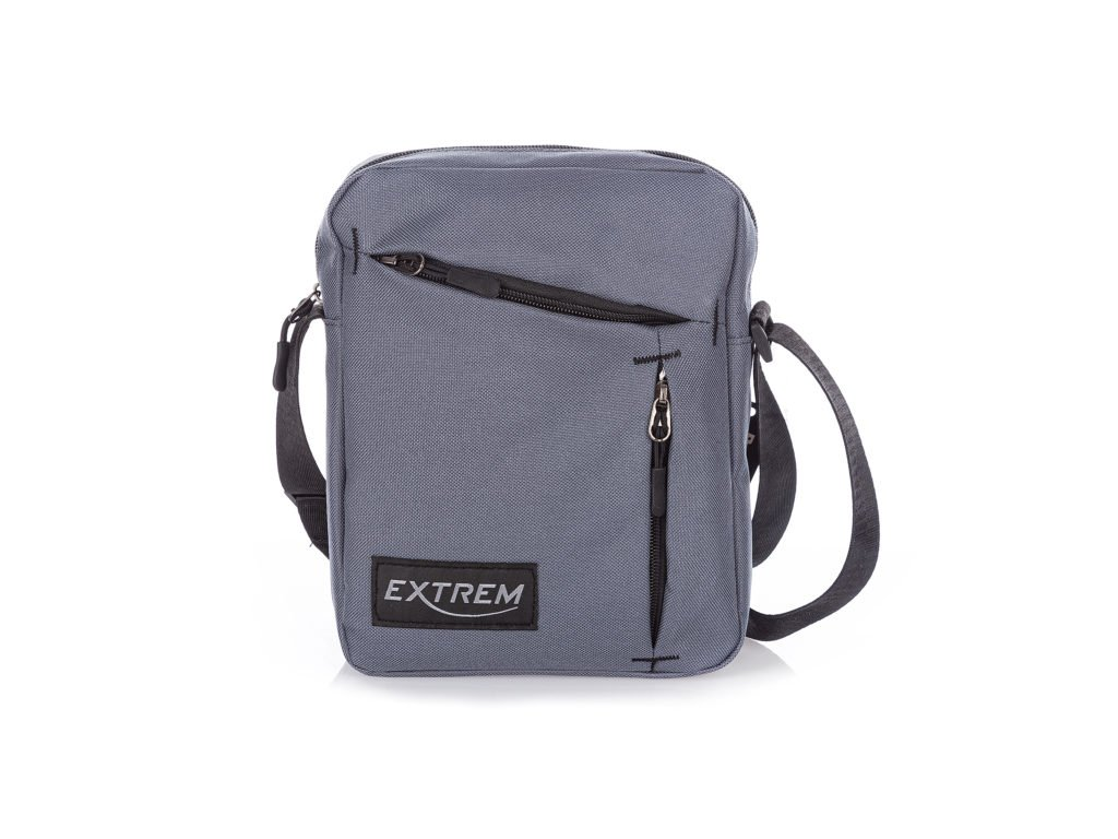 Pánská taška přes rameno šedá Bag Street 4240 (2)