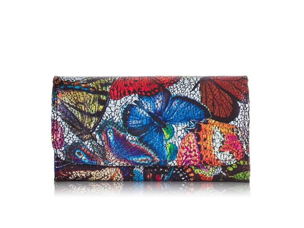 Dámská kožená peněženka Paolo Peruzzi L16 červená (1)