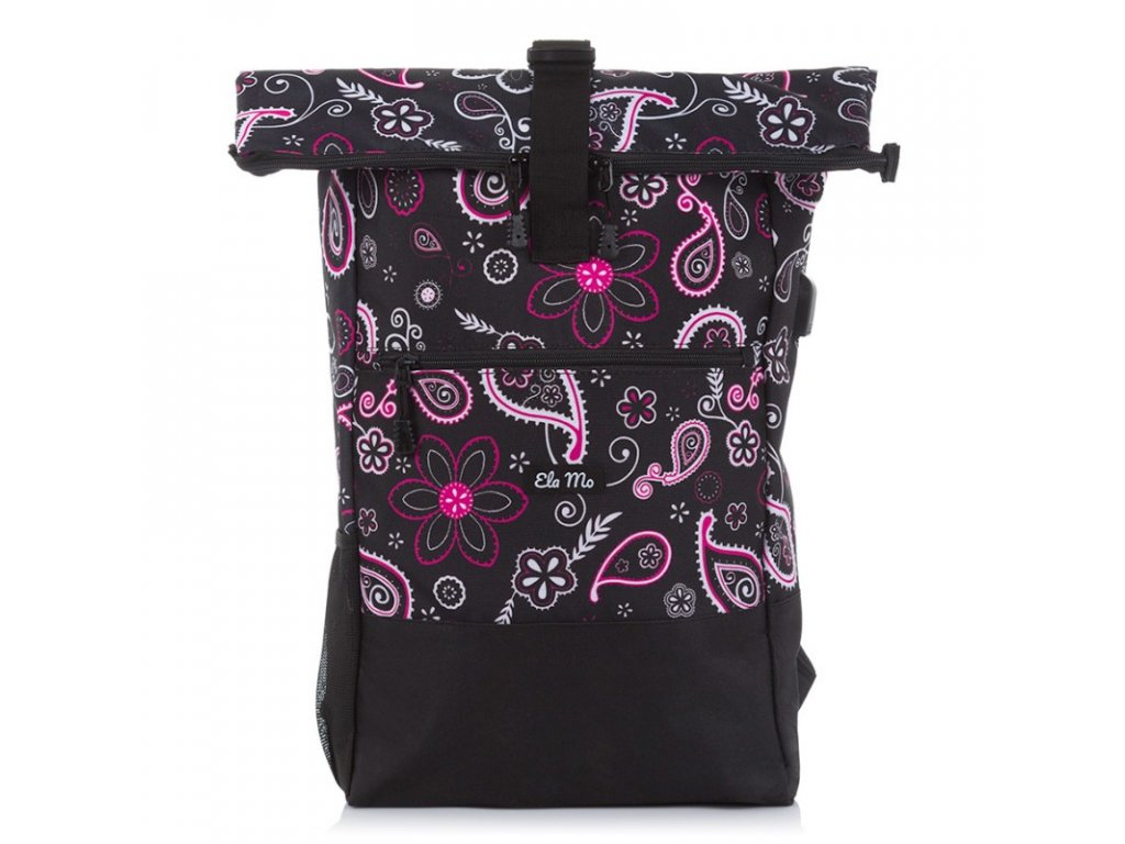 Elegantní městský unisex batoh s USB portem Bag Street šedý 4086 (1)