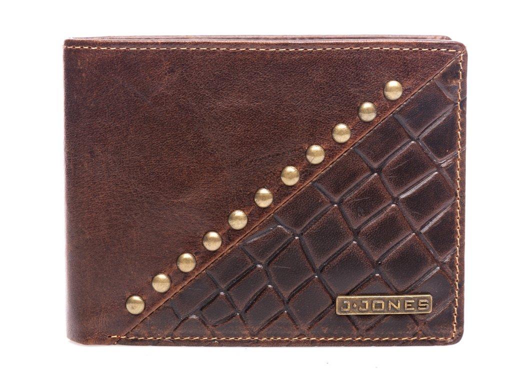 Pánská kožená peněženka J JONES hnědá 5560 BN (4)