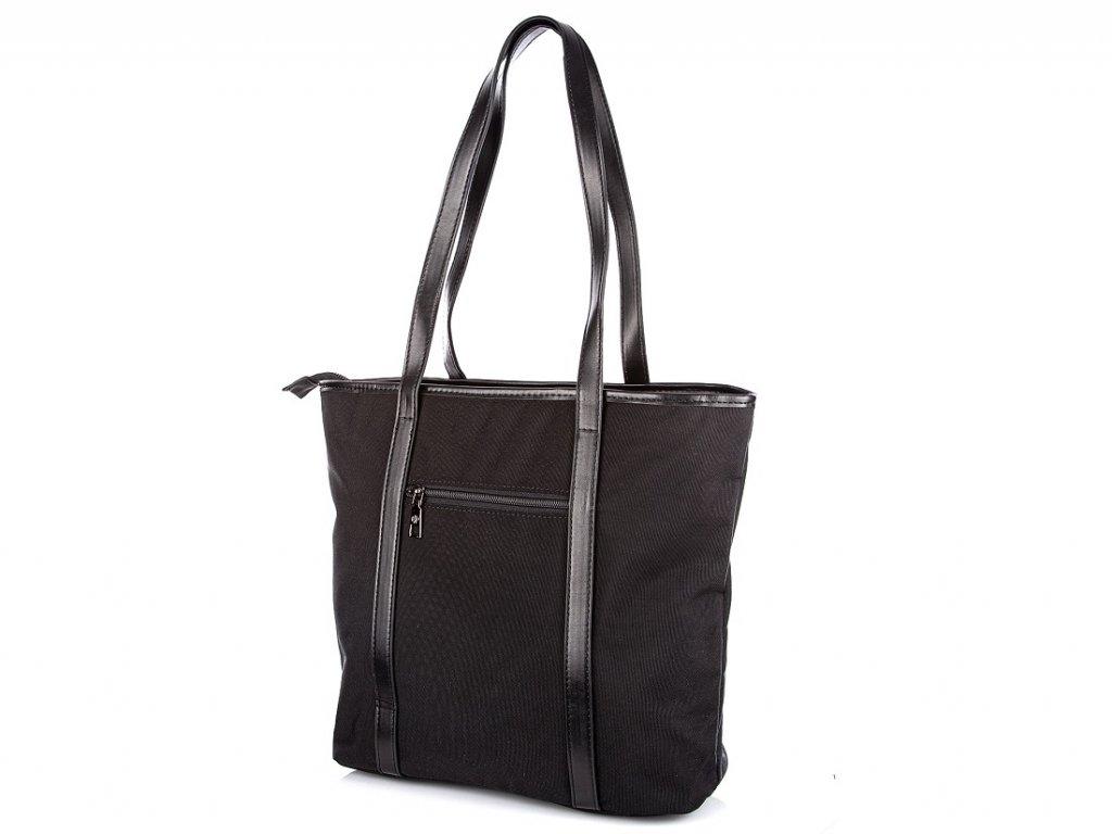 Dámská shopper kabelka černá 2356 Jennifer Jones (3)
