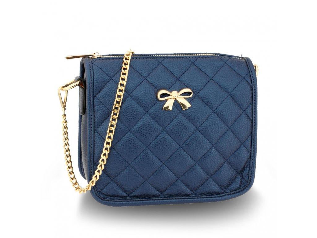 Malá kabelka přes rameno crossbody modrá Anna Grace AG00598 NY (2)
