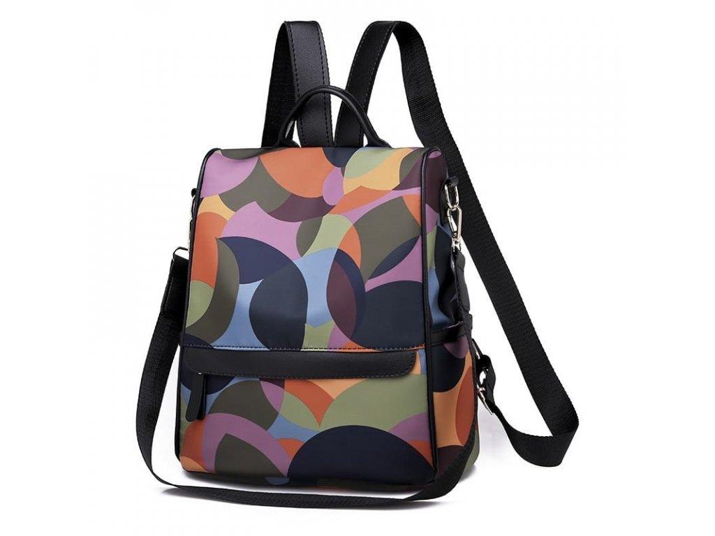 Dámský batůžek a kabelka 2v1 milticolor Gil Bags 2017 ModexaStyl (2)
