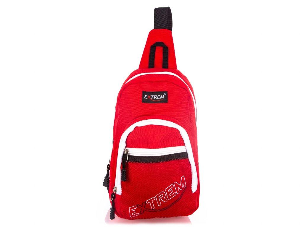 Malý batoh přes jedno rameno Bag Street Extrem 4242 RD červený (2)
