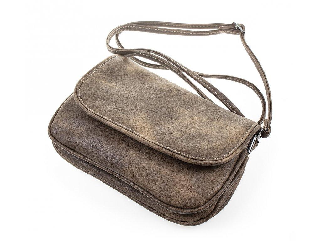 Malá kabelka přes rameno hnědá Bag Street 8352 ModexaStyl (1)