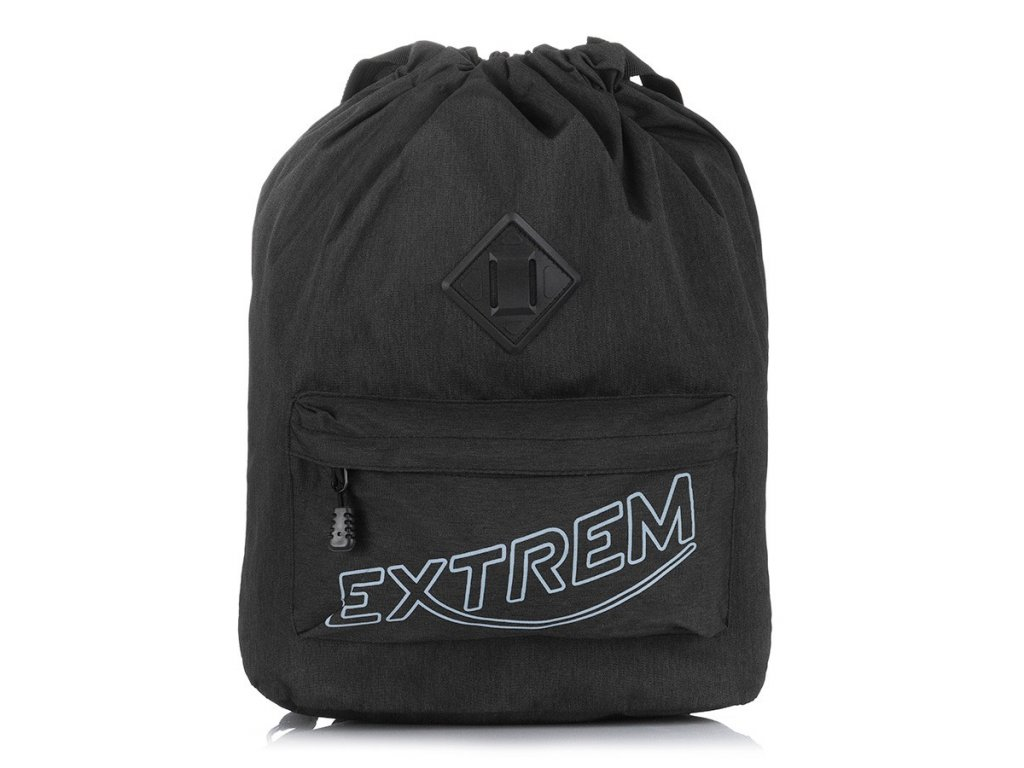Stylový městský batoh vak Bag Street Extrem 2306 černý ModexaStyl (1)