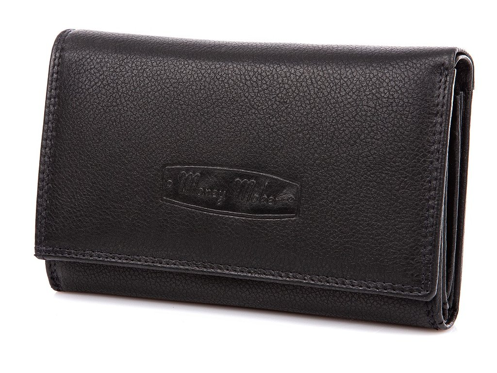 Dámská kožená peněženka Money Maker 12135B černá ModexaStyl (2)