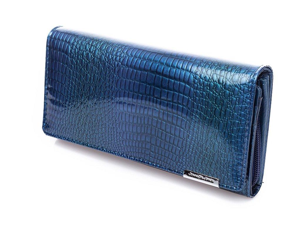 Dámská kožená peněženka modrá Jennifer Jones 5288 2 NY ModexaStyl (3)