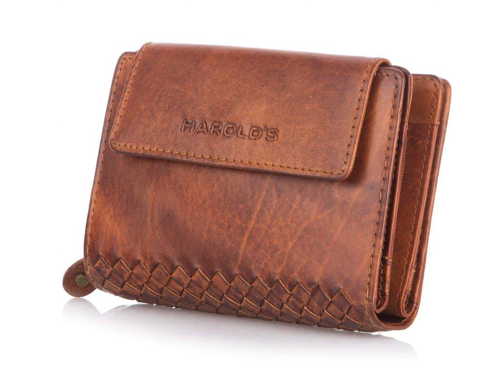 Dámská kožená peněženka Jennifer Jones 5627 hnědá ModexaStyl (3)