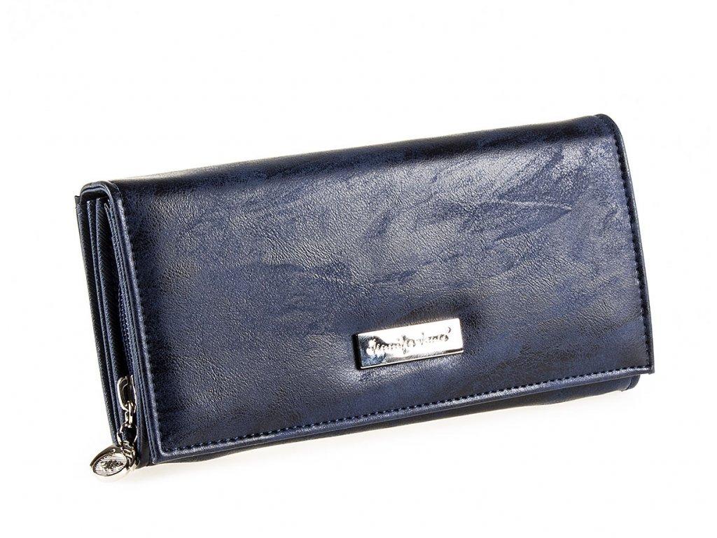 Dámská kožená peněženka červená Jennifer Jones 1109 7 modrá tmavě ModexaStyl (2)