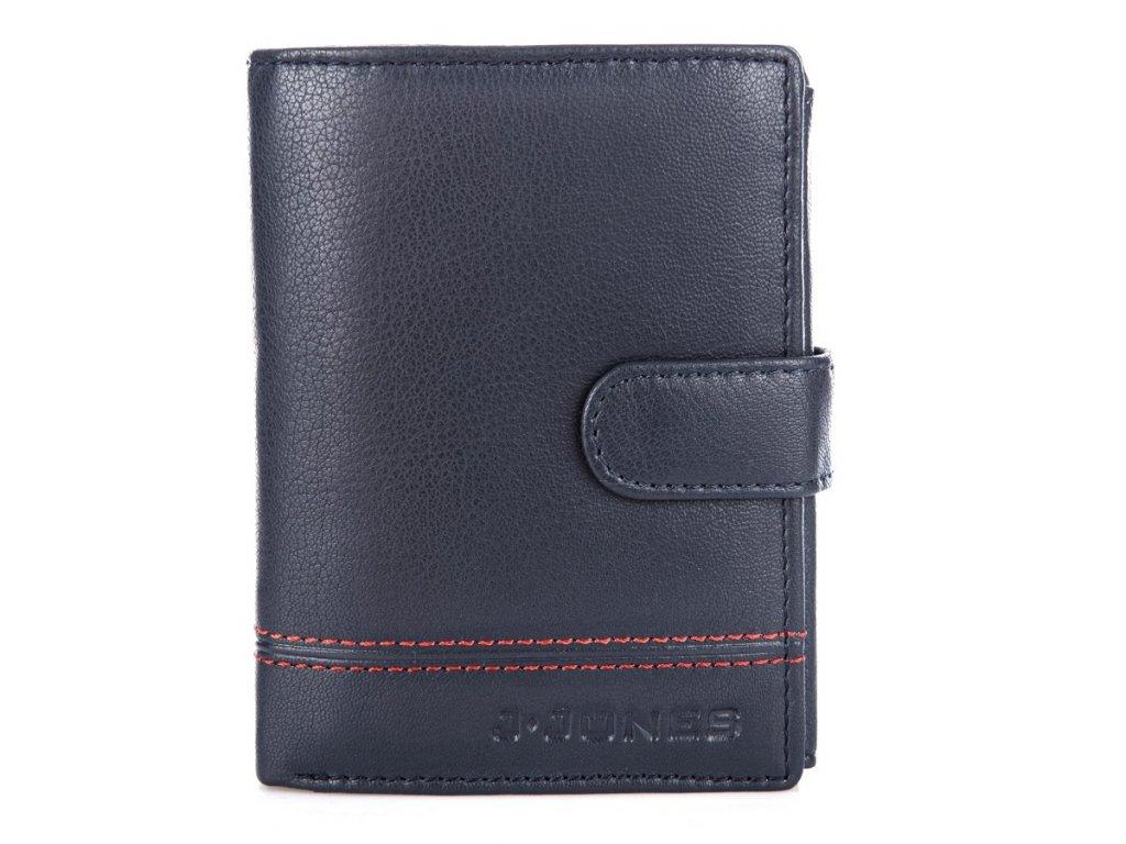 Pánská kožená peněženka J Jones 5314 modrá ModexaStyl (2)