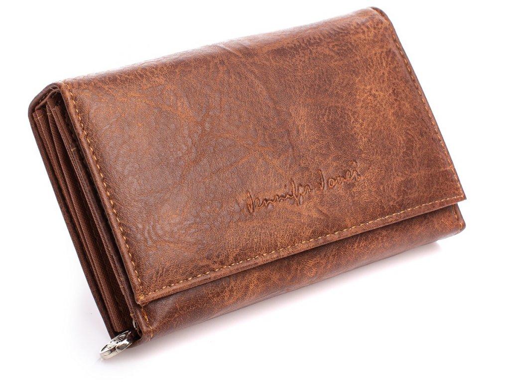 Dámská peněženka Jennifer Jones 1103 hnědá ModexaStyl (3)