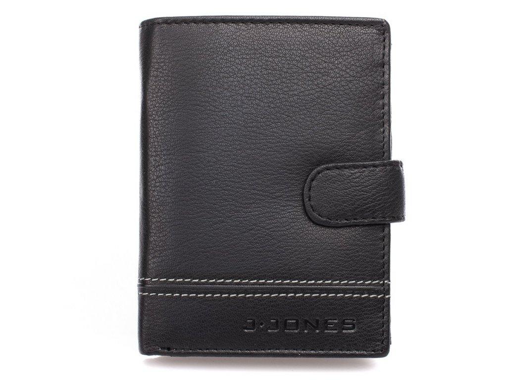 Pánská kožená peněženka J Jones 5314 černá ModexaStyl (2)