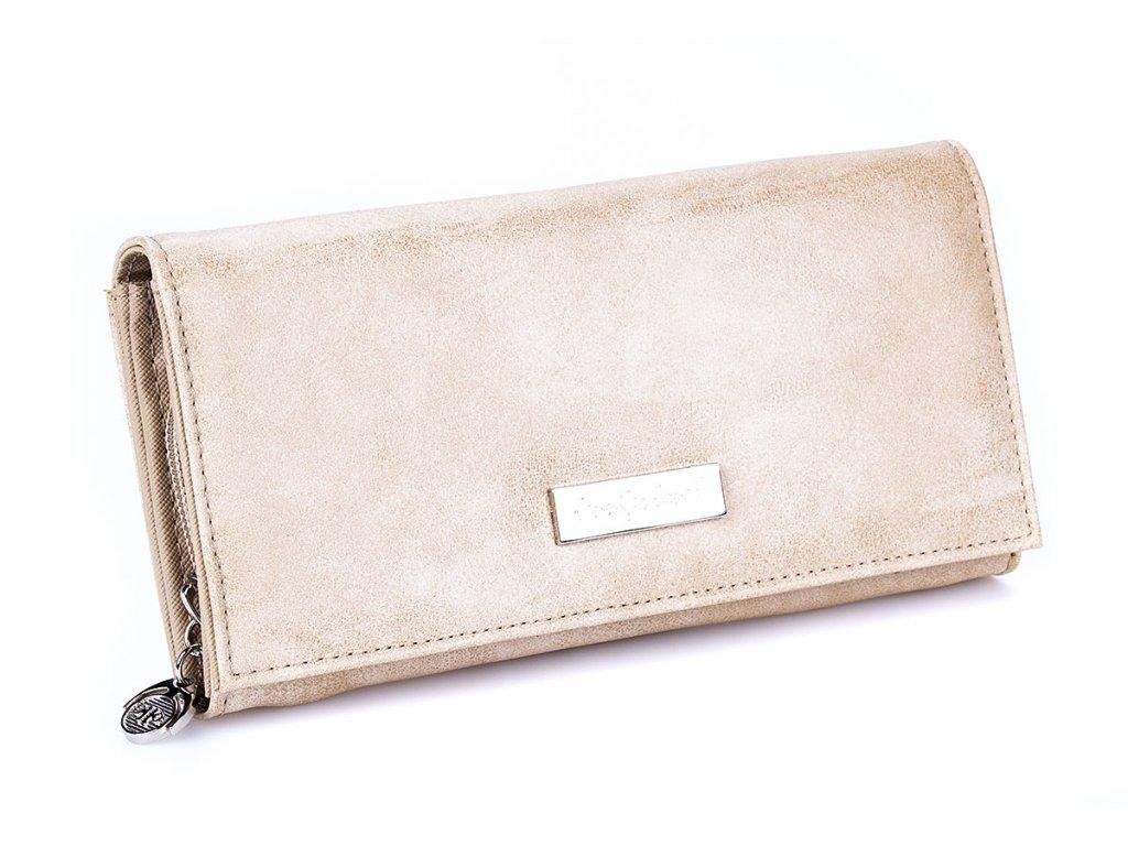 Dámská velká peněženka béžová Jennifer Jones 1109 7 (3)